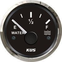 Wholesale 52mm Water level gauge SV KY11001 Signal ohm Waterproof black faceplate stainless steel bezel for universal car boat yacht