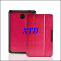 Wholesale Stand Fashional Thin PU Leather Magnetic Tablet Case Cover For Dell Venue