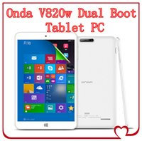 windows 8 tablet - Onda V820w Dual Boot Tablet PC Inch Windows Android Intel Z3735F Bit Quad Core GB RAM GB ROM X800 IPS HDMI Bluetooth
