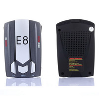 best laser detectors - Best Gift Car Radar Detector E8 Band Degree quot LED with Laser Russian English Voice Warning Vehicle Speed Control Detector E dog