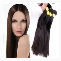 indian remy hair bulk - Unprocessed Virgin Indian Remy Straight Hair Weave Cheap Bundles Bulk Hair virgin human hair cheap Extensions