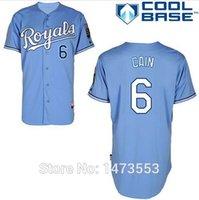 baby premier - Lorenzo Cain Jersey Royals Baby Blue Premier Stitched Mens Kansas City Royals Baseball Jerseys Shirt M XL