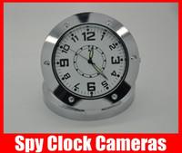 Wholesale HD Mini Cam Alarm Clock Hidden Camera Spy Clock Cameras Mini Spy DVR