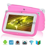 Wholesale kids tablet RK2926 GHz inch Children s Tablet Android Capacitive Touch Screen MB GB