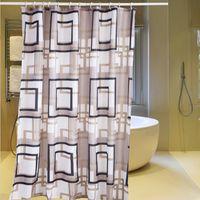 bathroom shower screens - Geometric pattern Shower Curtain High Quality Eco friendly Waterproof Bath Curtain bathroom accessories Bath Screen