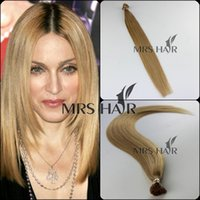 cold fusion hair extensions - 22 g quot Cold fusion dark blonde A grade Italian stick I Tip remy brazilian hair extensions Pre bonded Hair extensions