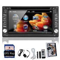 Wholesale 2 Din Car DVD Player TV CD DVD MP3 USB GPS IPHONE SAT NAVIGATION IPOD BLUETOOTH IPOD TV STEREO RADIO FM AM RECEIVER HEADUNIT MAP Car DVD Vid
