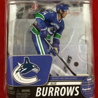 alex animation - Animation Garage Kid Collection Toys McFarlane Action Figure PVC Dolls NHL Ice Hockey Player Alex Burrows Model Best Gifts