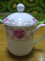 Wholesale guci cup mark cup ceramic porcelain new a pairs of good quality nice HJ012