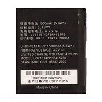 Cheap New OEM 1500mAh Cellphone Replacement 3.7V Li-ion Battery For ZTE N760 N780 V760 V881 Li3715T42P3h415266