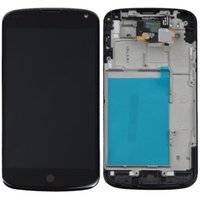 nexus 4 - For LG nexus E960 lcd frame LCD display touch screen with Digitizer Beze Frame Tools
