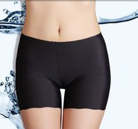 Wholesale Sex Free Girl Ship - Wholesale-black Shorts women 2014 new panties girl fashion briefs lady underwear sex breathable Ultra-thin No trace Safety free shipping
