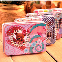 food storage tins - Storage tin candy tin box vintage European memory series quality iron case storage case