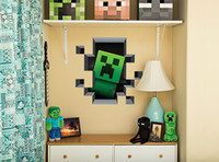 Wholesale Minecraft Wall Decal Cling Minecraft Sticker Wall sticker BIG x cm