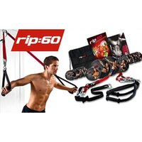 Wholesale Rip fitness rope RIP60 day days Resistance Bands workout health strong mould your body loss weight Trainer Cable free DHL