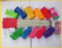 Wholesale Hot Rhythmic Gymnastics Ribbon Pilates Baton Twirling Rod Stick Streamer Ribbons M Gym Dance colors