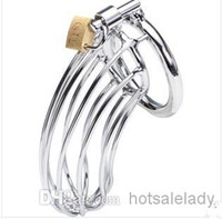 Cheap Male Chastity belt Best Stainless Steel Cock Cage