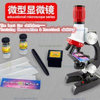 Wholesale Birthday gift x X X trinocular biological focusable Science Education microscope kit refined scientific Instrument toy