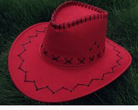 Wholesale Knight cowboy hat brimmed hat outdoor performances of men and women in cowboy hats hat