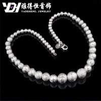 Cheap The explosion of 925 silver necklaces wholesale new car design flower beads pendant and silver jewelry selling snake belly