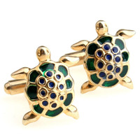 Wholesale Jixiang Fu Lu turtle style high grade gold cufflinks Cufflinks MTS