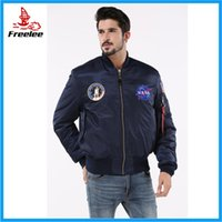 Wholesale Fall Alpha industries NASA flying jacket nomex flight jacket for men