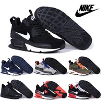 rubber boot - Nike Air Max Winter Sneakerboot Running Shoes For Men New Trainers Cheap Hot Sale High Quality High Cut Sports Boots
