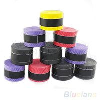 Wholesale New Anti slip Racket Over Grips Sweatband for Tennis Badminton Sport Safety OA YT4