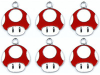 acrylic pendants jewelry making - New Super Mario Bros Metal Charm pendants Jewelry Making Party Gifts xtie26033