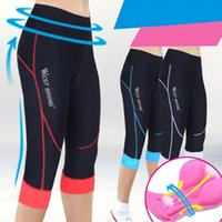 Wholesale WEST BIKING GEL D Thick Pad High Elasticity Quick Drying Sports Wear Ciclismo Bicicleta Maillot Women Mountain Bike Bicycle Cycling Shorts