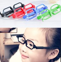 Wholesale Creative glasses pen glasses Ballpoint Pens gel pen set child stationery funny ball pen Student cartoon child stationery