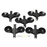 acrylic tank divider - LS4G x Black Plastic Divider Sheet Holder Suction Cups for Aquarium Fish Tank