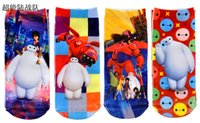 Boy autumn thomas - 2015 Hot Sell Childrens socks cartoon socks cars ruffle socks Thomas Big Hero socks TW5