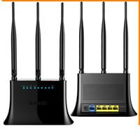 Bon Marché Répéteur sans fil à la maison-5 ports 802.11g / b / n Routeur sans fil 300Mbps 3 Antenne Répéteur WIFI Routeur réseau domestique
