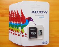 Wholesale Brand New Adata A Data GB GB Class Micro SD Card TF Memory MicroSD Card TF Card with Free SD Adapter
