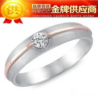absolute ring - Factory Boutique absolute classic silver ring silver rhodium rose gold couple ring Valentine s Day Gift
