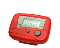 digital meter - HOT LY key Digital LCD Run Step Pedometer Walking Distance sport healty Counter Calorie Counters Passometer consumed Monitor Meter