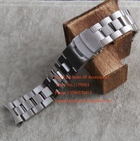Wholesale 22mm Curved End Watchbands NEW High Quality Silver Brushed steel Solid Stainless steel Watch BANDS Strap Bracelets for EF Promotion Hot