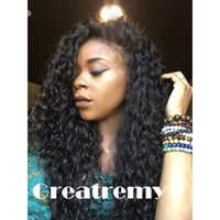 Body Wave big curl - Cheap Brazilian Indian Deep Curl Remy Virgin Hair Lace Front Human Hair Wigs for Black Women Greatremy Factory Outlet Full Lace Natural Hair