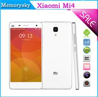 new arrival phone - New Arrival quot Xiaomi Smart Phone Mi4 M4 Quad Core Android GB GB Dual Camera Front MP Back MP G Play Store GPS cellphones