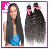 virgin indian hair remy hair - Grade A mongolian brazilian malaysian Indian virgin hair kinky straight hair extensions unprocessed remy human hair weave
