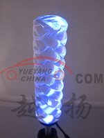 Wholesale Crystal gear head lamp red blue purple white paragraph