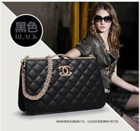 Women designer - elegant European and American style designer handbags made in china brand imitations handbags with metal labels