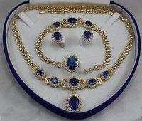 aquamarine silver bracelet - gt gt gt women s jewelry aquamarine KGP Earring Bracelet Necklace Ring No box