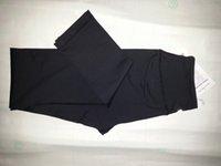 Wholesale 1PCS BLACK LULUL YOGA PANTS LEMONS WUNDER UNDER PANTS YOGA LEGGINGS WORKOUT PANTS NWT SIZE