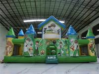 amusement entertainment - Cheer Kids Inflatable Bouncer Amusement entertainment inflatable castle combo fun city
