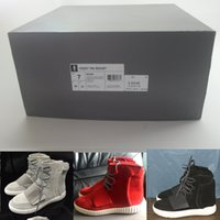 Cheap 2016 new arrival mens shoes yeezy boost 750 shoes yeezy shoes high quality High Top casual sport shoes