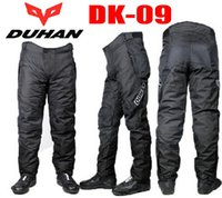 Wholesale DUHAN DK09 motorcycle pants winter off road motorbike Riding trousers protective clothing resistance windproof pants wearproof