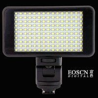 Wholesale Rechargeable LEDs Professional Video Light Lamp for DV Camcorder DSLR Camera freeship
