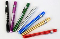 Wholesale for Medical flashlight aluminum alloy medical led pen light Medical flashlight